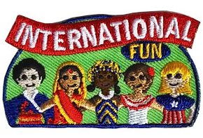 International fun patch