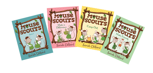 Mouse Scout Books By Sarah Dillard