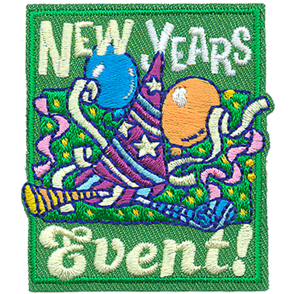 Girl Scout FUN PATCH Winter Olympics 2018