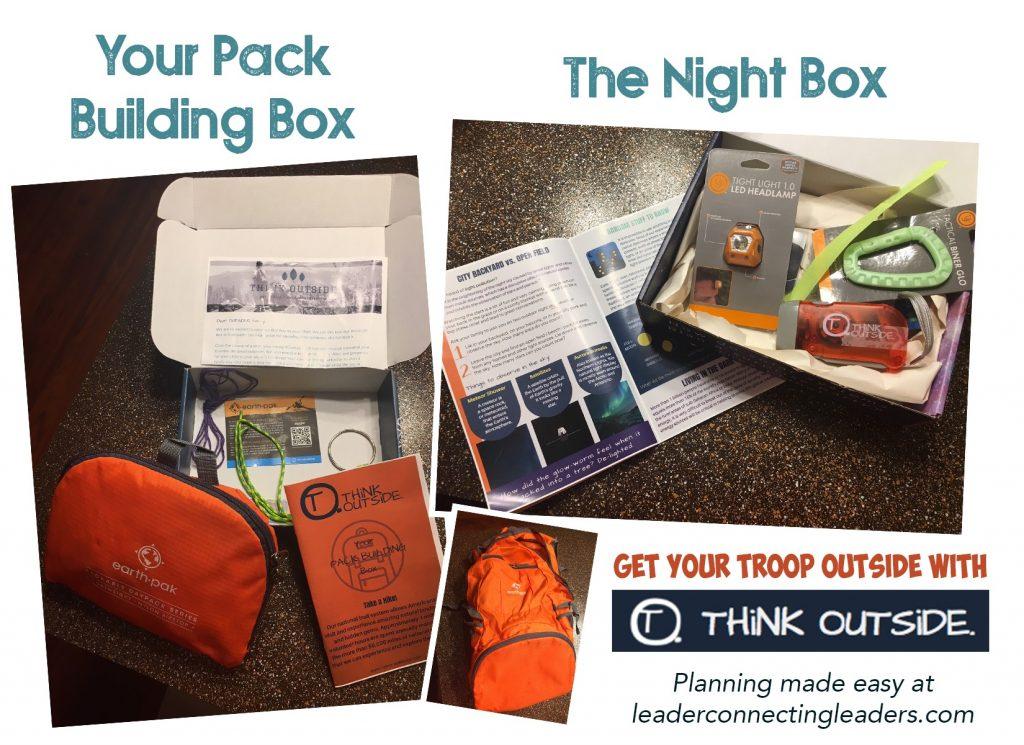 Outdoor activities in box