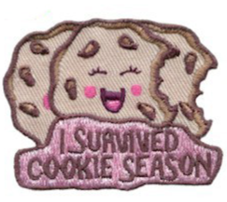 survived cookie season fun patch