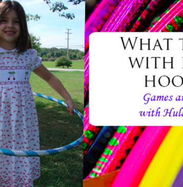 7 Fun Games With Hula Hoops