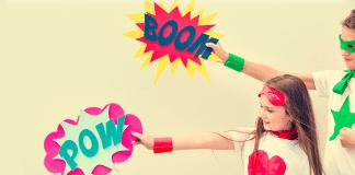 comic artist pow boom