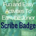 Scribe Junior badge promotional