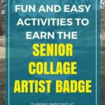 Collage artist badge