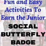 Social Butterfly Badge Ideas