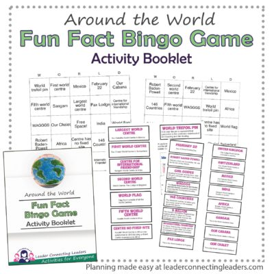 Around the World Bingo Game