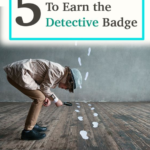 5 Activities for Detective badge