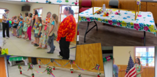 Girl Scout Hawaiian Party