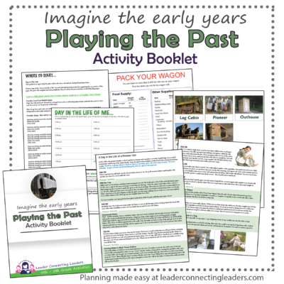 Playing the past activity booklet