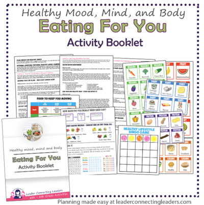 eating for you activity booklet
