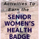 Women's health badge