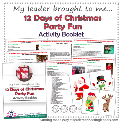 12 days of Christmas party fun