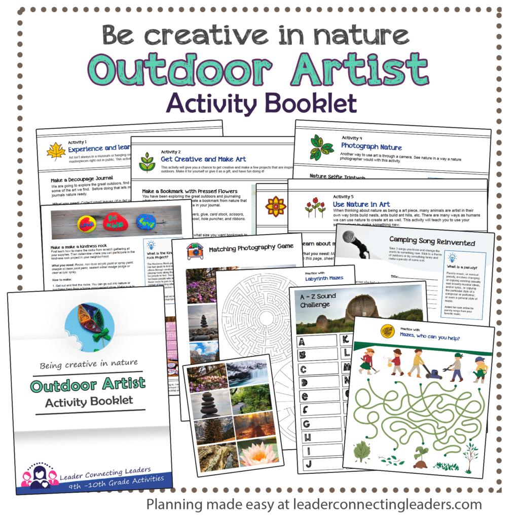Outdoor Artist booklet