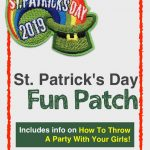 St Patricks Day Fun Patch