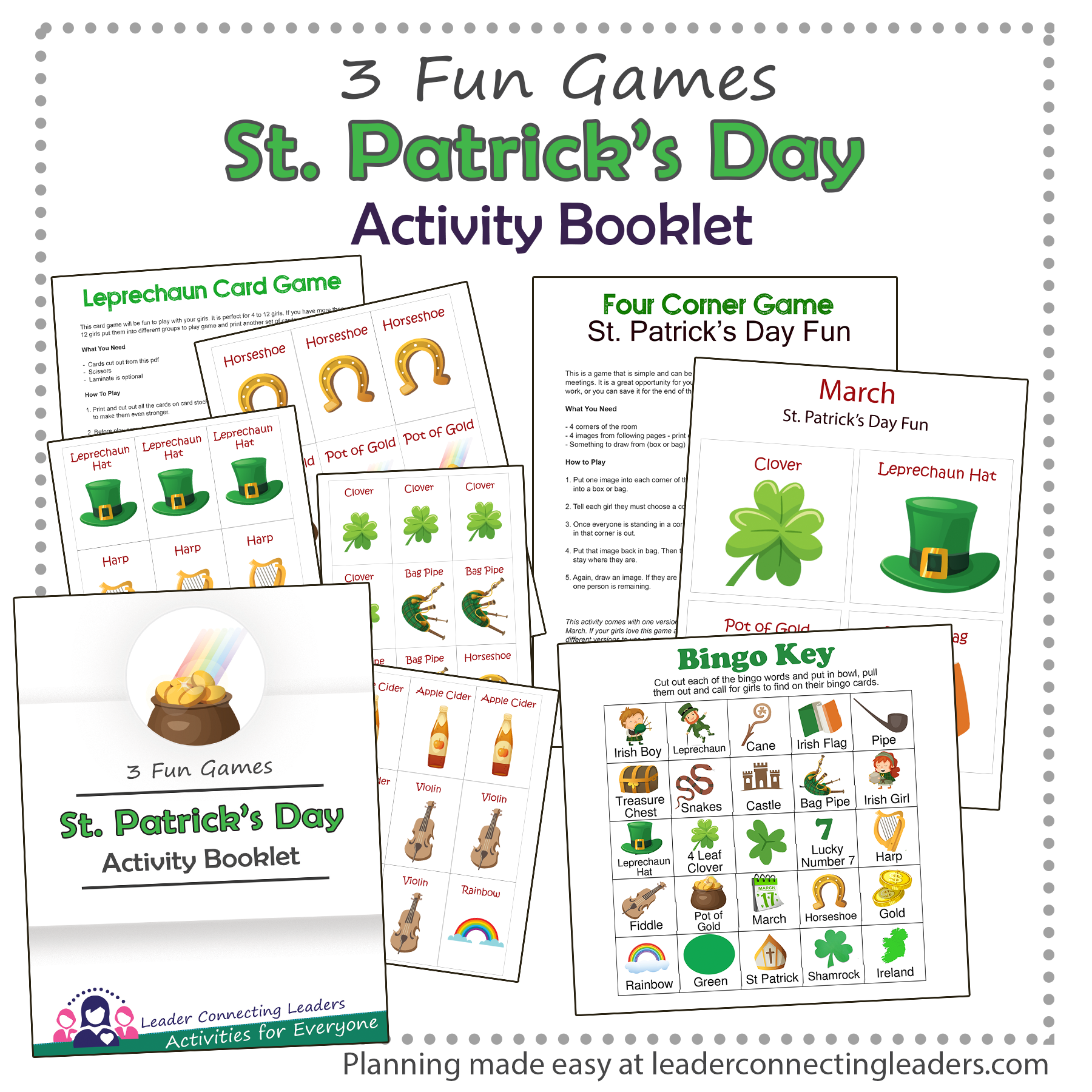 St Patrick Day Activity Booklet