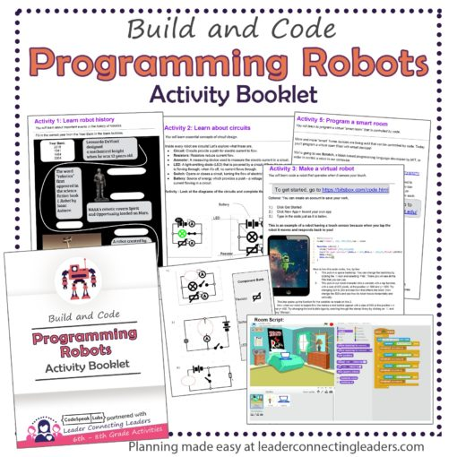 programming robots activity booklet