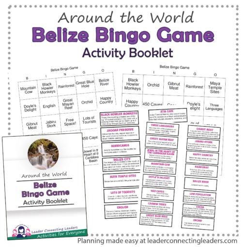 Belize Bingo Game