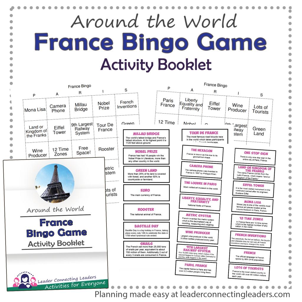 France Bingo Game