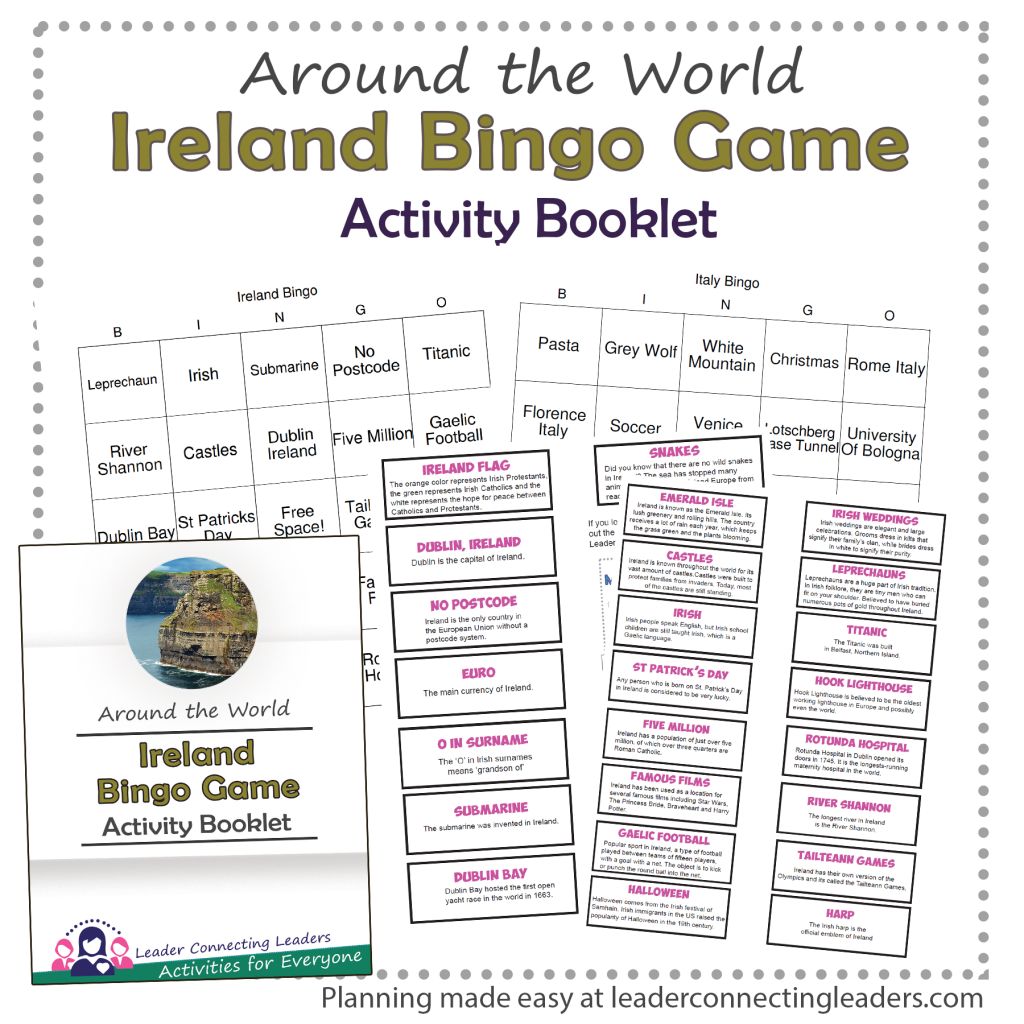 Ireland Bingo Game