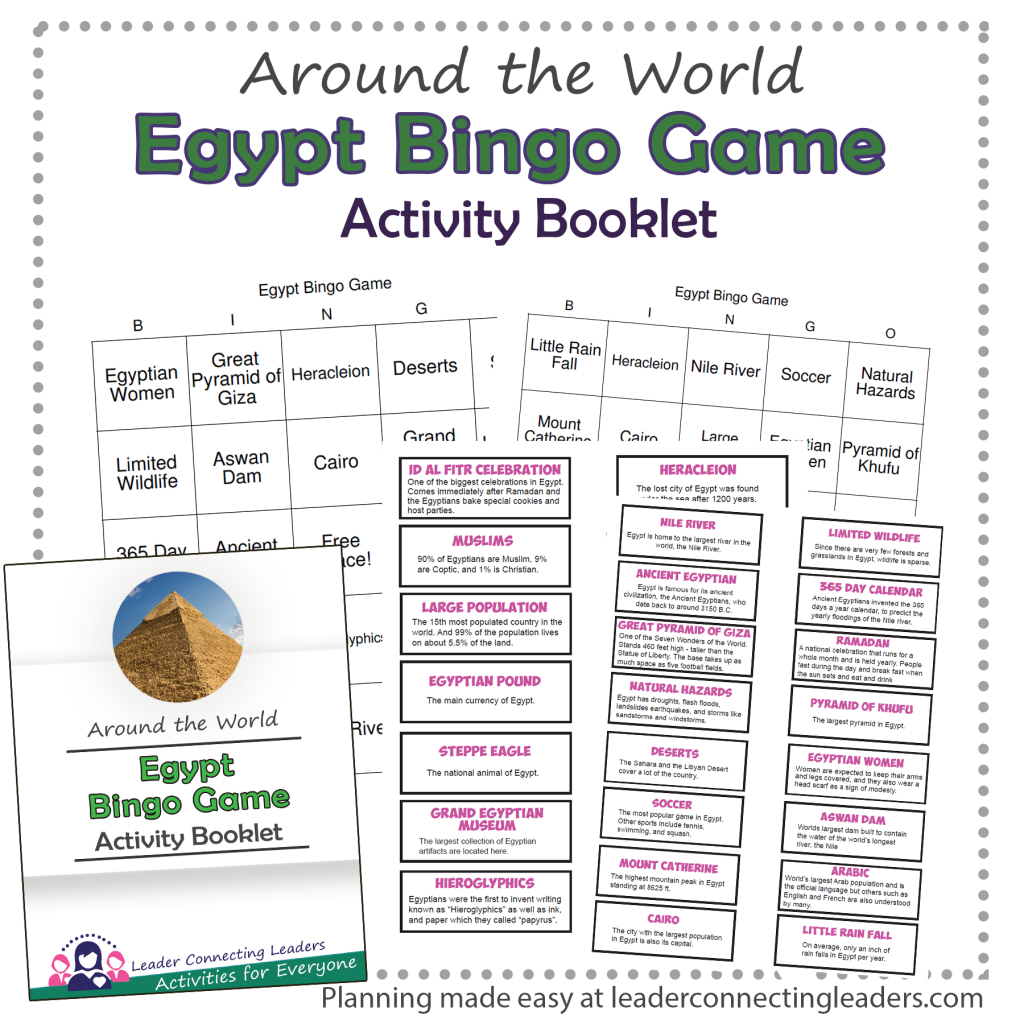 Egypt Bingo Game