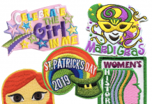 March Fun Patches