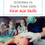 Teach girls first aid skills