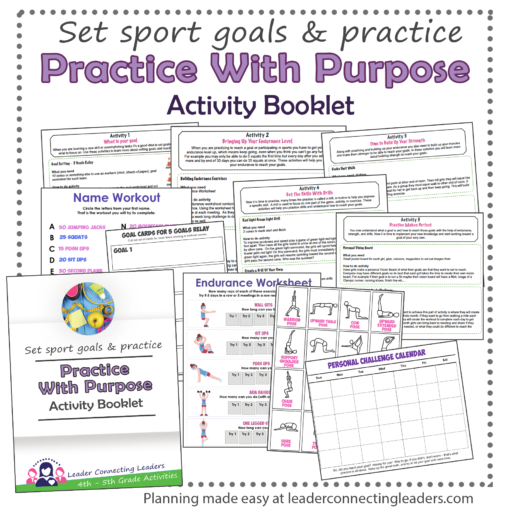 practice with purpose activity booklet