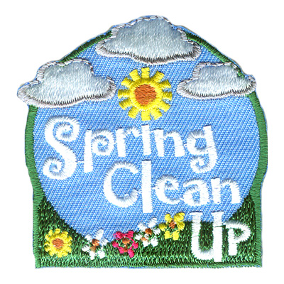 spring clean up fun patch