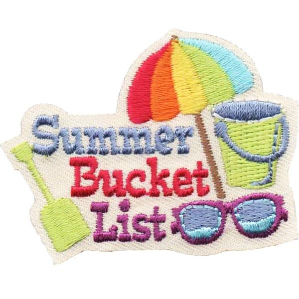 Summer Bucket List Patch