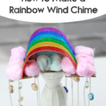 how to make a rainbow wind chime