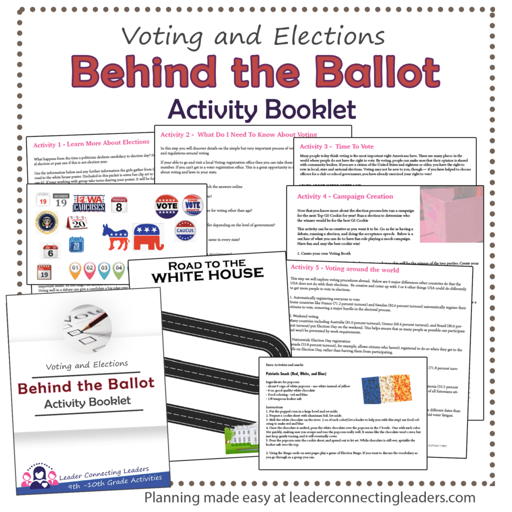 Behind the Ballot Activity Booklet