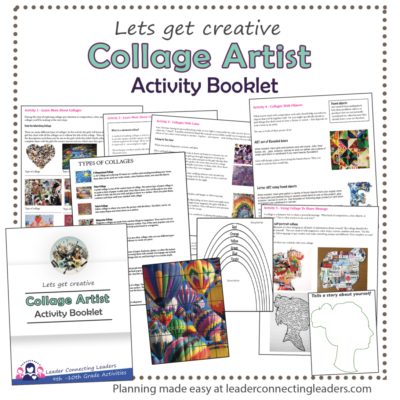 Collage Artist Activity Booklet