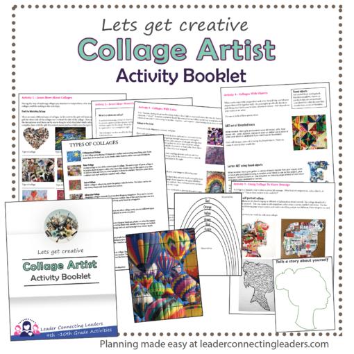 Collage Artist Activity Booklet