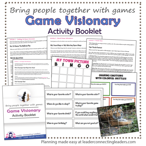 Game visionary booklet