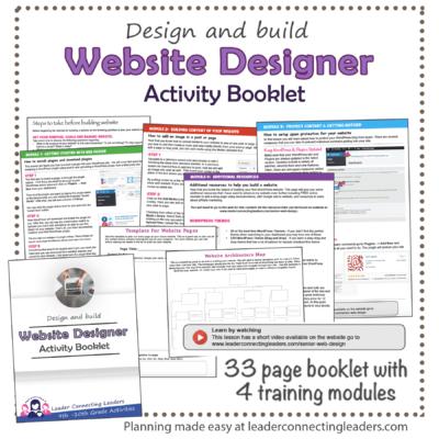 Web Designer Booklet