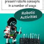 robotic activities