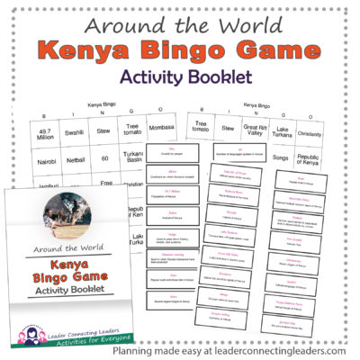 Kenya Bingo Game