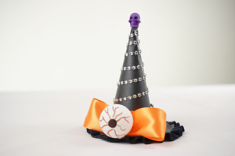 Witch Hat Filled with Chocolate
