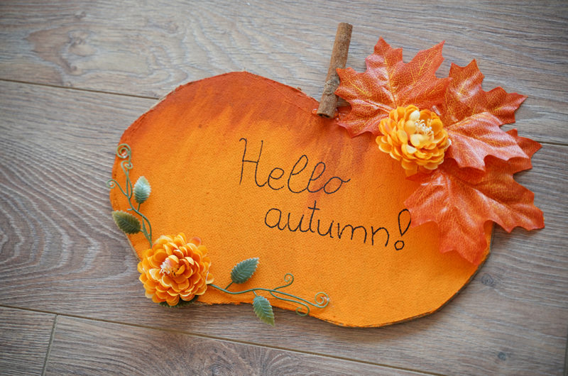 Autumn Pumpkin Message Board