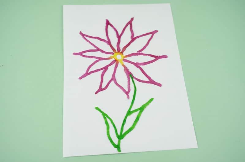 Salt Art Flower
