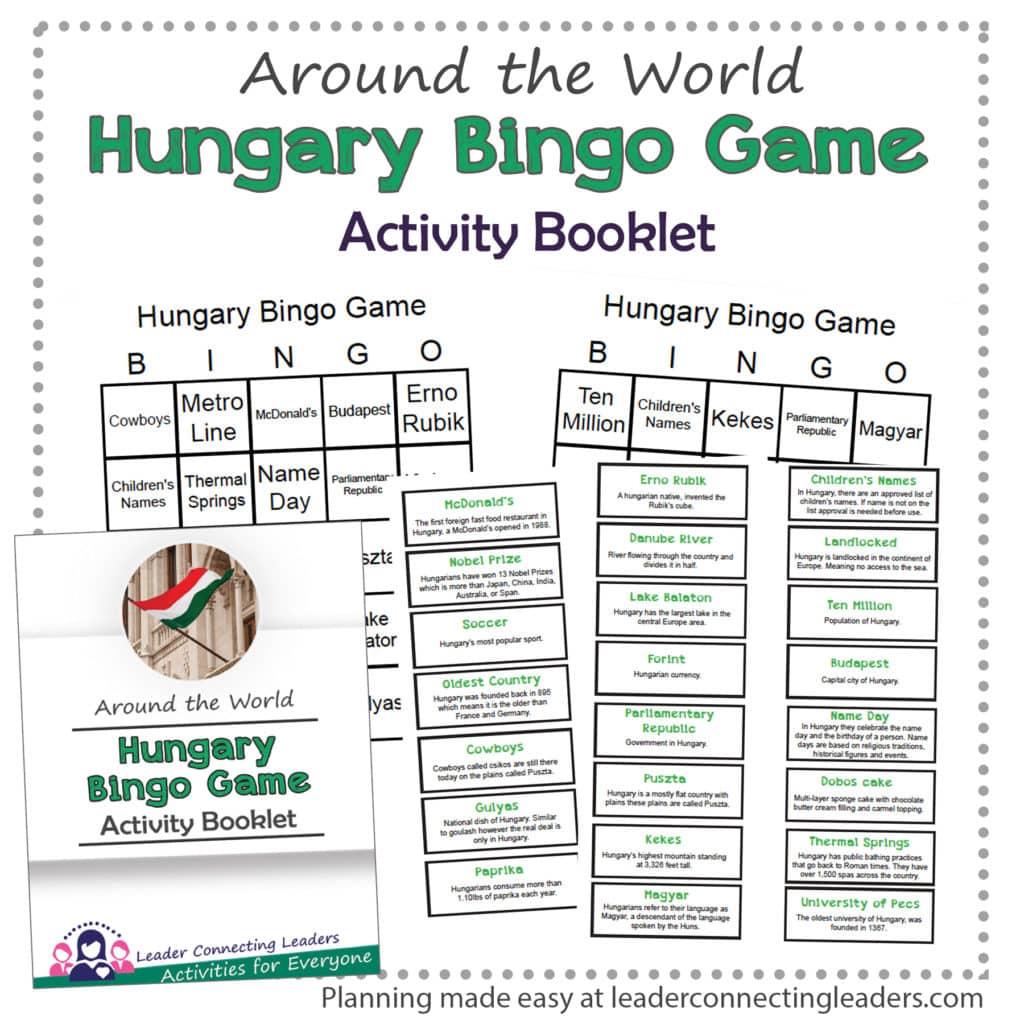 Hungary Bingo Game