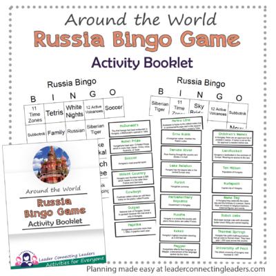 Russia Bingo Game