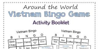 Vietnam Bingo Game
